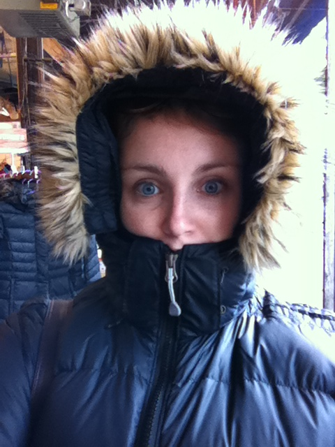 My Minnesota down coat.